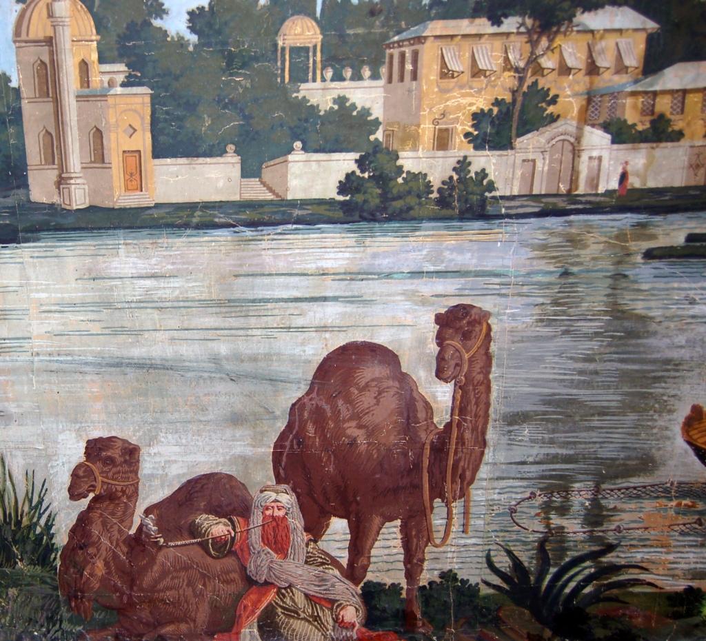 Joseph Dufour Wallpaper Les Rives du Bosphore