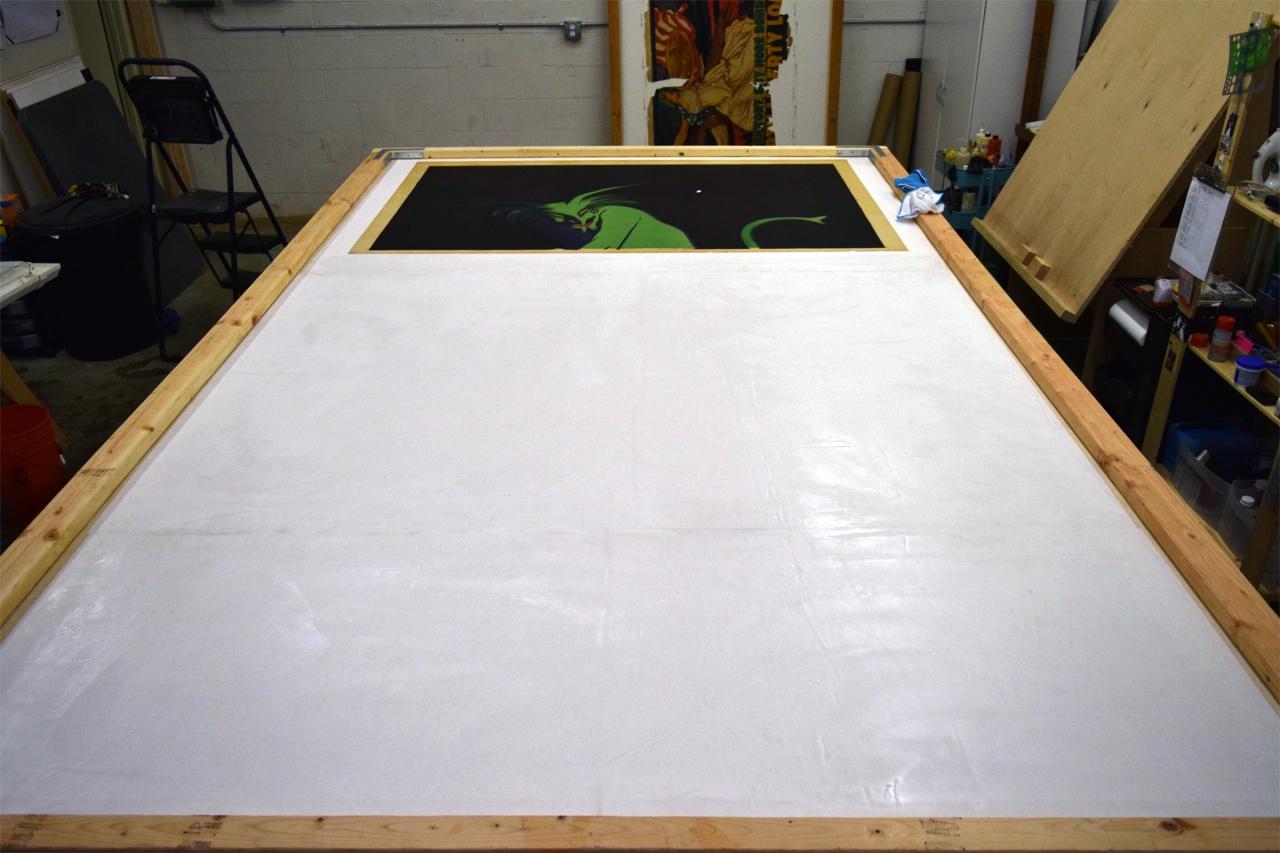 Linen Backing